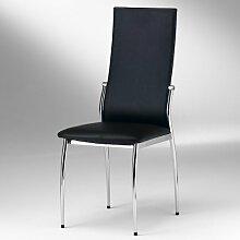 IDIMEX Esszimmer Stuhl DORIS - Set mit 4 Stühlen