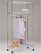IDIMEX Garderobenwagen Rollgarderobe Garderobe mit