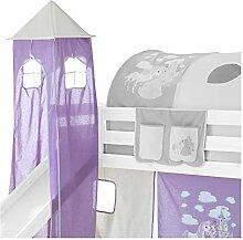 IDIMEX Turm Spielturm Prinzessin zu Hochbett