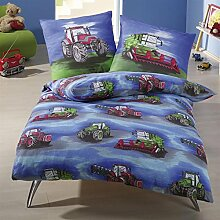 IDO Biber Kinder Bettwäsche 2 teilig Bettbezug