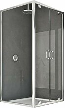 Idralite Sintesi Duo 2 Türen Duschkabine 90x75