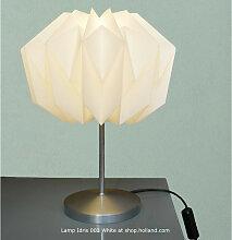 Idris 003 Weiß Tischlampe von Danielle Origami