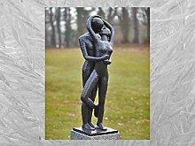 IDYL Bronze-Skulptur Küssend Liebespaar |