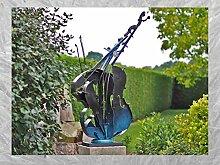 IDYL Bronze-Skulptur Moderne Skulptur Cello |