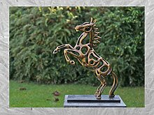 IDYL Bronze-Skulptur Pferd | 56x19x45 cm | Moderne
