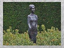 IDYL Bronze-Skulptur Stehende Frau | 138x30x28 cm