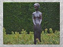IDYL Bronze-Skulptur Stehende Frau | 167x30x37 cm