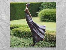 IDYL Bronze-Skulptur Tanzende Frau | 150x60x32 cm