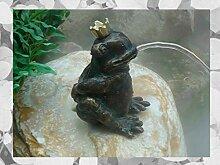 IDYL Rottenecker Bronze-Skulptur Froschkönig
