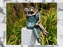 IDYL Rottenecker Bronze-Skulptur Junges Glück auf