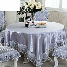 Idylle Tischdecke/ minimalistische Nachttisch Tuch/ Reine Couchtisch Tischdecken/Modernen Stoff/Tischdecken-B 130x180cm(51x71inch)