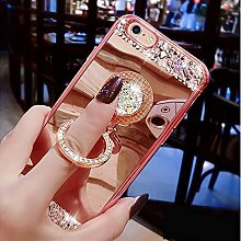 iEMAXELERS iPhone 8 Hülle Glitzer Bling Kristall