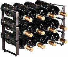 IF.HLMF Weinherstellung Stapelbar 12 Flaschen