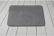 ifee Badteppich Badematte Decke Cord Weich