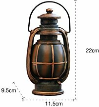 ifee Retro Petroleumlampe Spardose Harz vintage