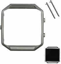 iFeeker Fitbit Blaze Zubehör Armband Stahlrahmen,