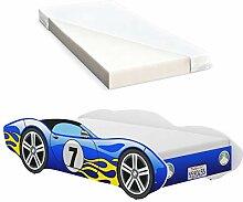 iGLOBAL Kinderbett Autobett Cars Bett Jugendbett