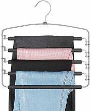 iHangers Mehrfach-Kleiderbügel für Hosen,