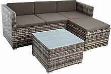 IHD Rattan Lounge Sitzgruppe Polyrattan