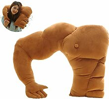 IHomiki Muskel-Mann-Körper-Arm-Plüsch-Baumwolle