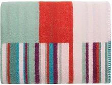 Iittala 1016076 Origo Wolldecke, Schurwolle, rosa, 130 x 180 x 2 cm