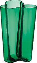 Iittala - Aalto Vase Finlandia 251 mm, smaragdgrün