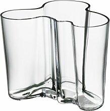 Iittala Aalto Vase, klar, 12cm