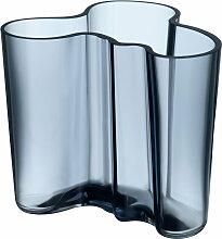 Iittala - Aalto Vase Savoy 120 mm, regenblau