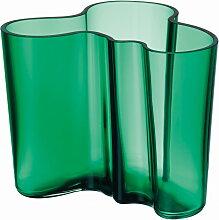 Iittala - Aalto Vase Savoy 120 mm, smaragdgrün