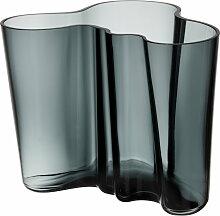 Iittala - Aalto Vase Savoy 160 mm, dunkelgrau