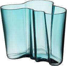 Iittala - Aalto Vase Savoy 160 mm, seeblau