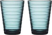 iittala Aino Aalto Wasserglas  33cl  2 Stück