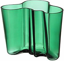 Iittala Alvar Aalto Collection Vase 160 mm emerald