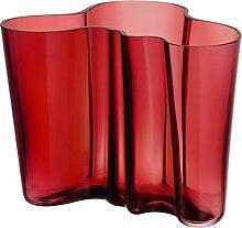 Iittala Alvar Aalto Collection Vase 160 mm, Rot