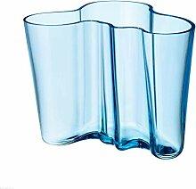 Iittala Alvar Aalto Vase, hellblau, 160mm
