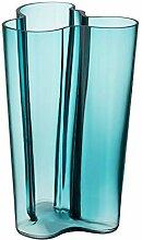 Iittala Alvar Aalto Vase Seeblau 25,1 cm