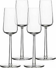 Iittala - Essence Champagner-Glas, 21 cl (4er Set)
