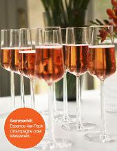 iittala ESSENCE Champagnerglas -  4er Set