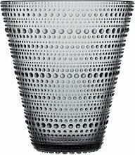 Iittala - Kastehelmi Vase 154 mm, grau
