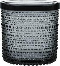 Iittala - Kastehelmi Vorratsglas 116 x 114 mm, grau