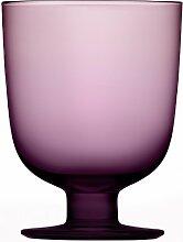 Iittala Lempi - Glas - 34 cl - Dunkellila - 2 stück