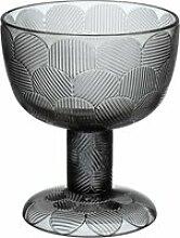 Iittala - Miranda Schale auf Fuß 145 mm, grau
