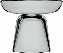 Iittala - Nappula Glas-Kerzenständer 107 mm, grau