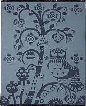 Iittala - Taika Wolldecke, blau 130 x 180 cm