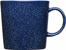 Iittala - Teema Becher - Becher mit Henkel - duo blau - blau gesprenkelt - 0,3 l