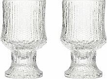 Iittala - Ultima Thule Rotweinglas mit Fuß 23 cl