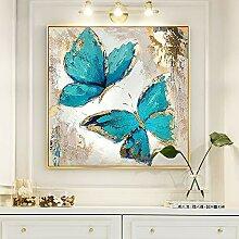 IJNUH Strassstein Gemälde Schmetterling Diamant