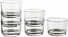 IKEA 365+ Glas, Glas klar, Größe 18cl,