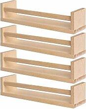 IKEA 4 Gewürzregal aus Holz - Kinderzimmer -