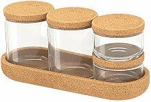 IKEA 403.918.79 SAXBORGA Glas mit Deckel und